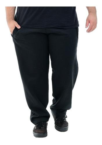 Calça Moletom Masculina Plus Size Extra G 50 52 54 56 58 60