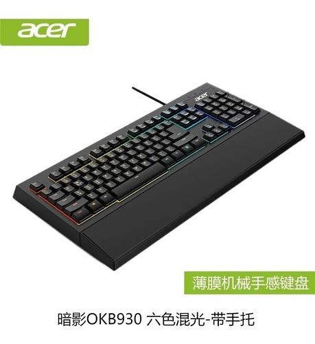Teclado Gamer Acer Okb930 Rgb Efect