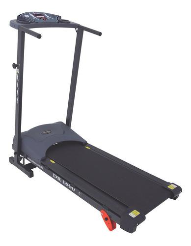 Esteira Elétrica Dream Fitness Dr 1600 110v/220v Preta
