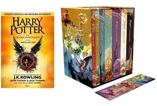 Box Coleção Harry Potter + Criança Amaldiçoada - 8 Livros