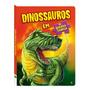 Livro Dinossauros Em Quebra cabeça Atividades P/ Crianças