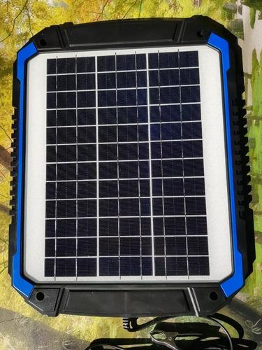 Cargador/mantenedor Solar De Bateria 15w