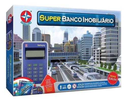Jogo De Mesa Super Banco Imobiliário Estrela