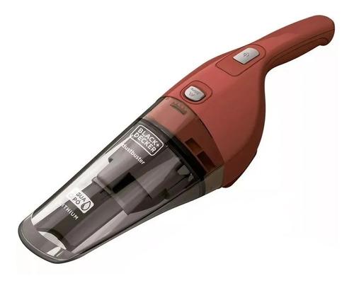 Aspirador De Pó Sem Fio Black+decker Dustbuster Apb3600 370ml Vermelho