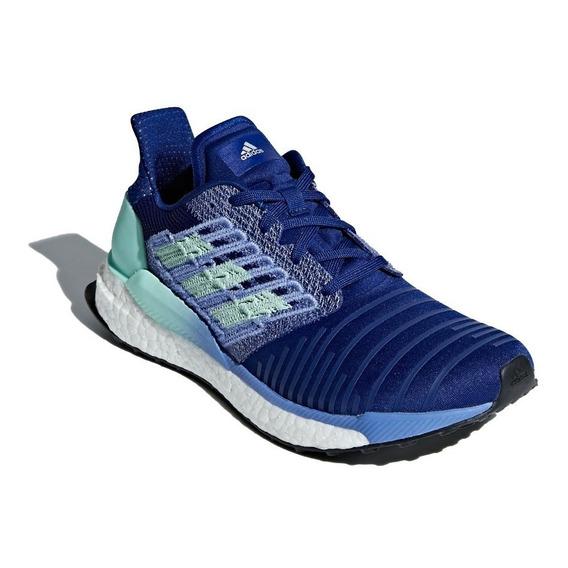 adidas Zapatillas Running Mujer Solarboost Azul - Celeste