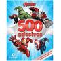 Livro 500 Adesivos Marvel Avengers Vingadores Culturama