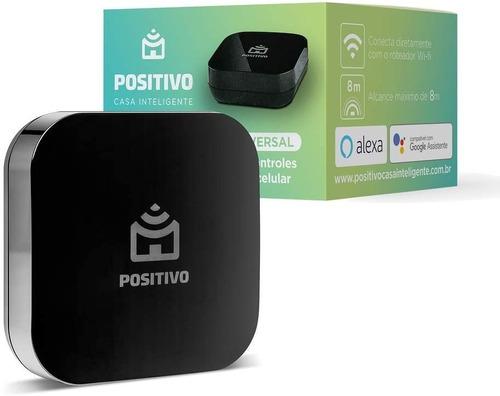 Smart Controle Universal Positivo Casa Inteligente Com Alexa