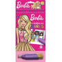 Livro Aquabook Barbie Rosa Colorindo Com Água