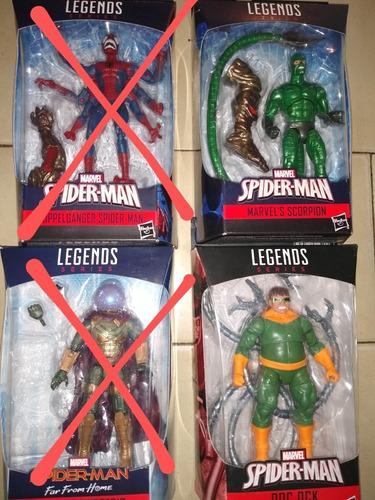 Figuras Marvel Legends Spiderman(consultar Precios)