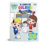 Livro Infantil Para Colorir Luccas Neto E Gi Nas Férias