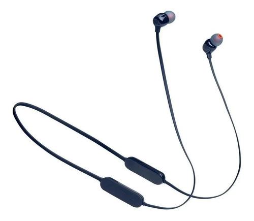 Fone De Ouvido In-ear Sem Fio Jbl Tune 125bt Blue