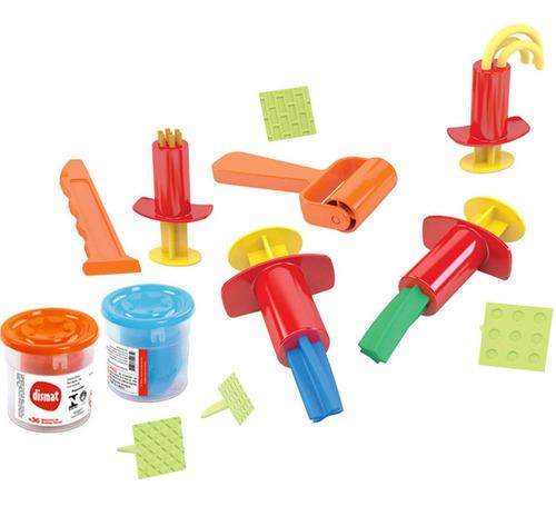 Massa De Modelar Brinquedo Educativo Box Massinha Dismat