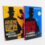 Kit 02 Livros Arsène Lupin   Ladrão Casaca Contra Sherlock