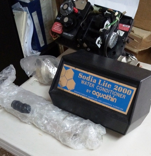 Equipo Comercial Y Residencial Tratamiento Agua Aquathin Syn