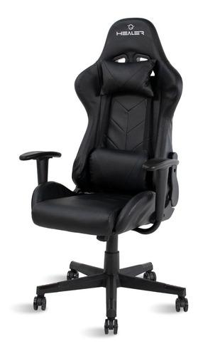 Cadeira Gamer Reclinável Strike Healer Preta