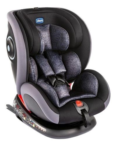 Cadeirinha De Segurança Para Carro Chicco Seat4fix Graphite
