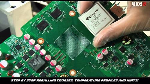 Turno Reballing Xbox 360 Slim / Phat / Caballito