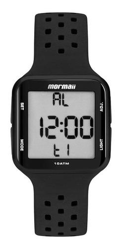 Relógio Mormaii Unissex Quadrado Preto Mo6600/8p