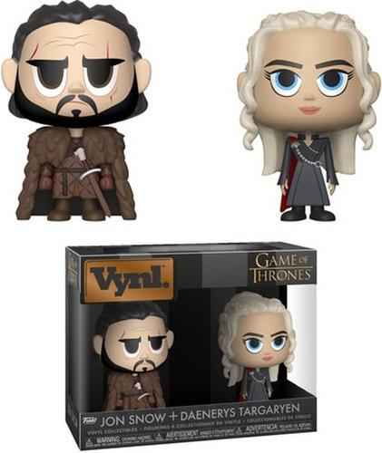 Figura Daenerys Y Jon Snow - Game Of Thrones Vynl Funko