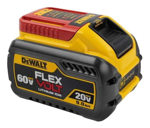 Bateria Íons De Lítio 20v/60v 9ah Flexvolt Dcb609 Dewalt