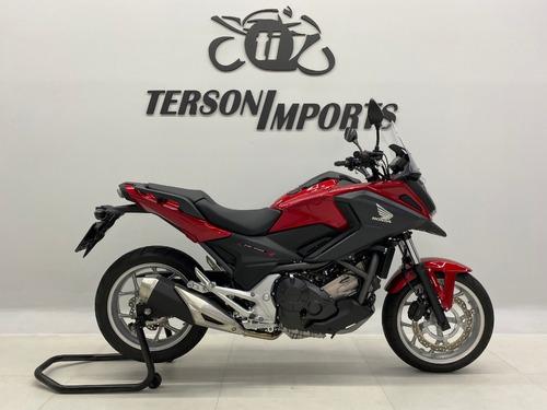 Honda Nc 750x Abs 2021 Vermelha