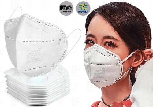 Caixa 50 Uni Máscaras N95 Proteção Respiratória Pff2