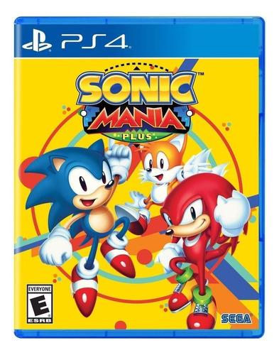 Sonic Mania Plus Físico Ps4 Sega