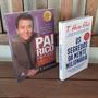 Kit Livro Pai Rico Pai Pobre E Segredos Mente Milionária