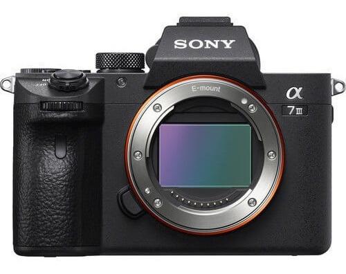 Câmera Sony Alpha A7iii Mirrorless (corpo)