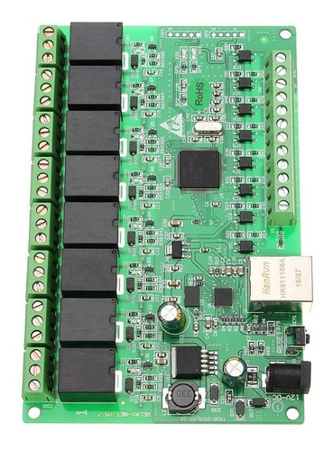Web Relay Ip - 8 Canales