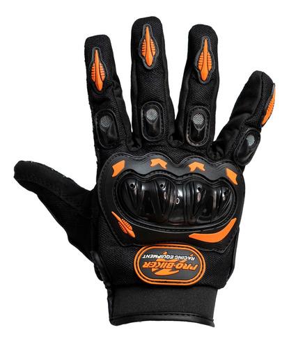 Luva Para Proteção C/ Velcro Ajustável Motoqueiro Moto Bike