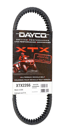 Banda Para Atv/utv Polaris -dayco Xtx2266