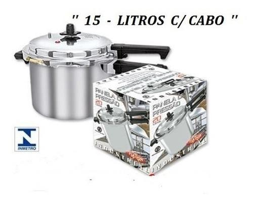 Panela De Pressaõ  Industrial  15 Litros - Fulgor + Brinde Original