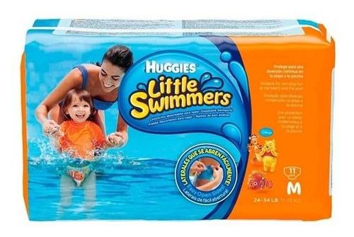 Fraldas Descartáveis  Little Swimmers Mar E Piscina M