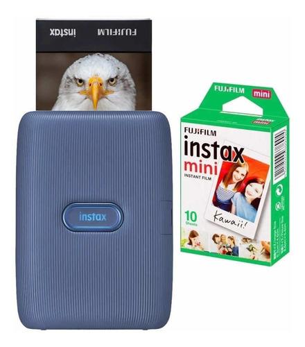 Impressora Instax Mini Link Celular Filme De 10 Fotos
