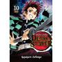 Demon Slayer Kimetsu No Yaiba, Mangá Vol. 10 Ao 13
