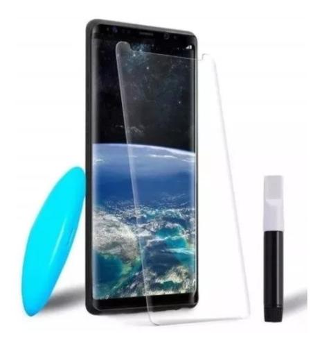 Película Vidro Uv Cola Líquida S8 S9 Plus S7 Edge Note 9