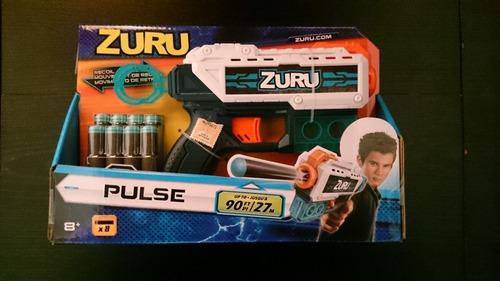 Pistola Lanza Dardos Zuru X Shot Pulse 8 Dardos 27 Metros