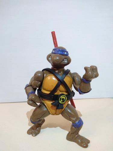 Tortuga Ninja Donatello Figura Accion Muñeco 1989