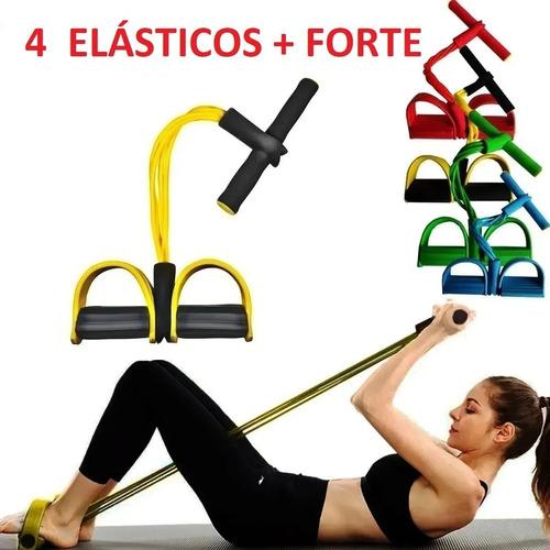Elástico De Tensão Tubefit Exercício Academia Pilates Yoga