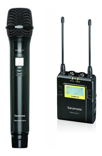 Microfone De Mão Sem Fio Saramonic