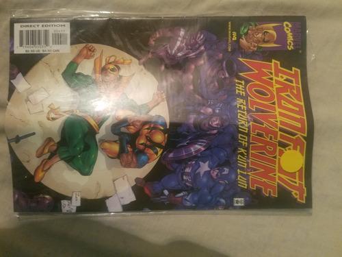 Comic Iron Fist Wolverine