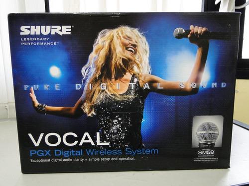 Shure Pgxd24/sm58-x8 - Digital Wireless Microphone System