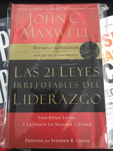 Libro Las 21 Leyes Irrefutables Del Liderazgo