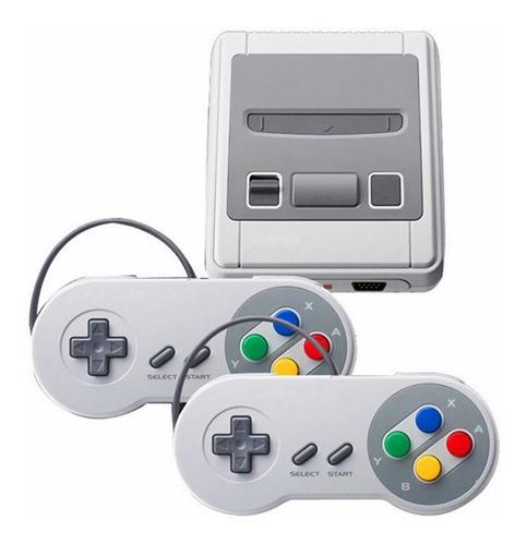 Videogame Mini Nintendo 8 Bits Com 620 Jogos E 2 Controles