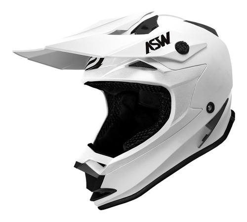 Capacete Asw Fusion Solid Motocross Moto Trilha Enduro