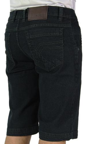Bermuda Jeans Elastano Direto Da Fábrica