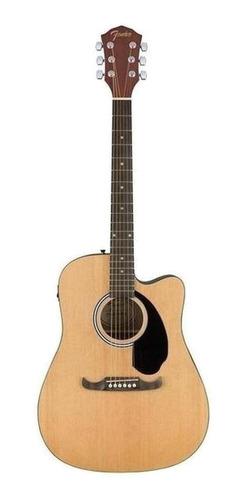 Guitarra Electroacústica Fender  Alternative Fa-125ce Natural