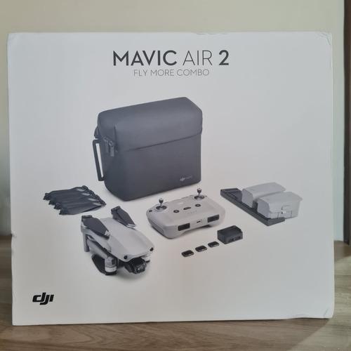 Drone Dji Mavic Air 2 Fly More Combo Com Câmera 4k Cinza