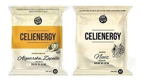 Alfajores Celienergy Apto Para Celiacos X12 Unidades